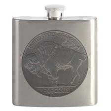 NickleIndianBuff-C8trans Flask