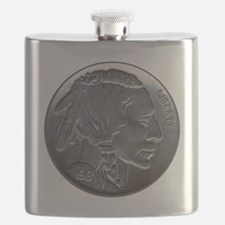 NickleIndian-C8trans Flask