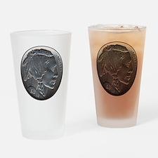 NickleIndian-C8trans Drinking Glass