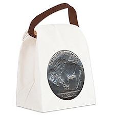 NickleIndianBuff-C8trans Canvas Lunch Bag