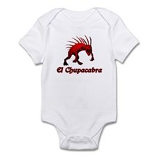 El Chupacabra Red Infant Bodysuit