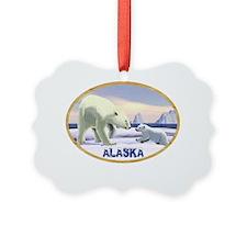Mama Nose Best - Alaska oval Ornament