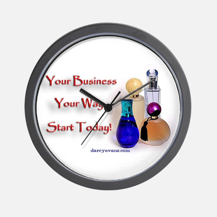 Your Business Wall Clock