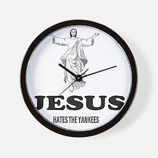 JESUSHATESTHEYANKEES Wall Clock