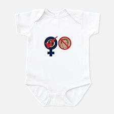 WOMAN PRESIDENT - YES - HILLA Infant Bodysuit