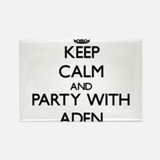 Keep Calm and Party with Aden Magnets