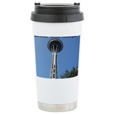 space needle Seattle Washington Travel Mug