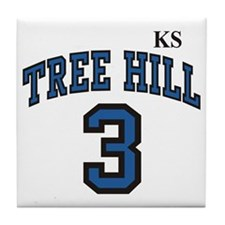 Cool Tree hill 23 Tile Coaster