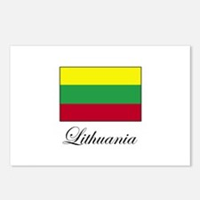 Lithuania - Lithuanian Flag Postcards (Package of