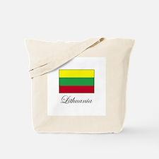Lithuania - Lithuanian Flag Tote Bag