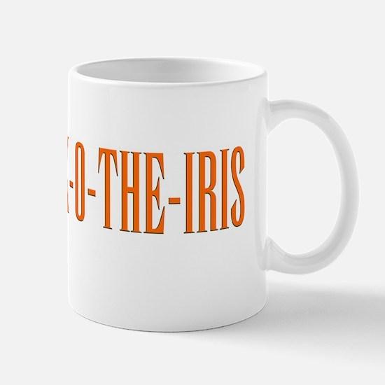 LOCK-O-THE IRIS bumper sticker Mug