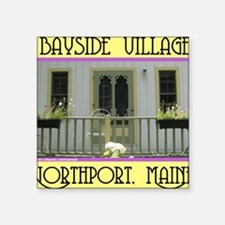 "baysidePORCH Square Sticker 3"" x 3"""