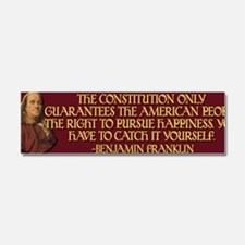 Franklin on Constitutional Guara Car Magnet 10 x 3