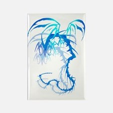 Lectrik Dragon Shadowed Trans Rectangle Magnet