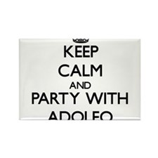 Keep Calm and Party with Adolfo Magnets