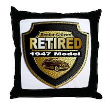 1947 model Throw Pillow