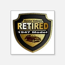 """1947 model Square Sticker 3"""" x 3"""""""