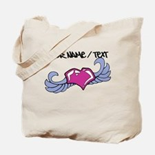 Heart With Wings Tote Bag