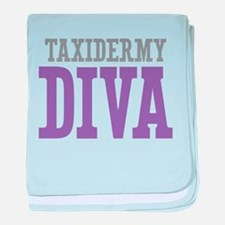 Taxidermy DIVA baby blanket