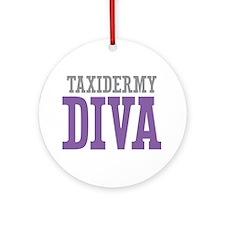 Taxidermy DIVA Ornament (Round)
