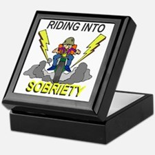 riding-sobriety Keepsake Box