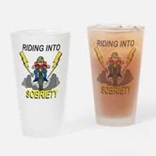 riding-sobriety Drinking Glass