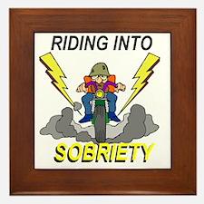 riding-sobriety Framed Tile