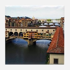 Florence Ponte Vecchio Tile Coaster