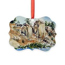 fishing Hot Creek Ornament