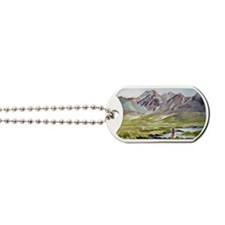 Fishing on the Owens Dog Tags