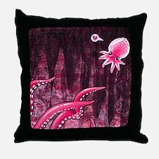 octoluvmpad Throw Pillow