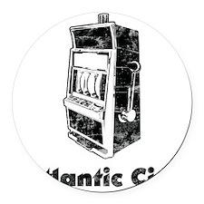 AtlanticCity1 Round Car Magnet