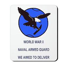 U S Naval Armed Guard<BR>Mousepad