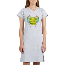 Buffy softball png Women's Nightshirt