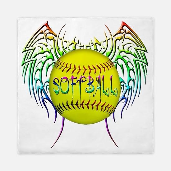 Buffy softball png Queen Duvet