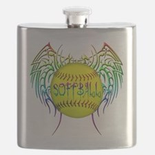 Buffy softball png Flask