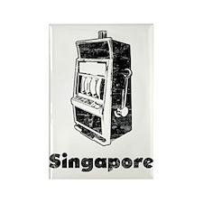 singapore2 Rectangle Magnet