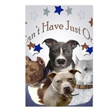 Pitbulls cant have just o Postcards (Package of 8)