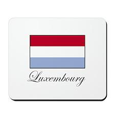 Luxemborg - Flag Mousepad