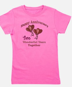 two hearts two Girl's Tee