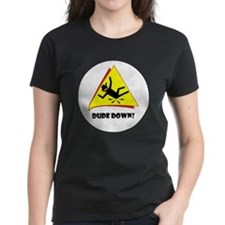 R-down-wt Tee