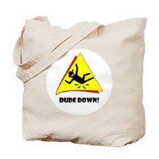 R-down-wt Tote Bag