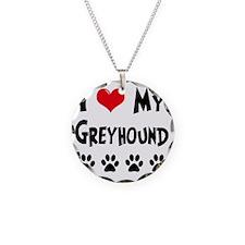 I-Love-My-Greyhound Necklace