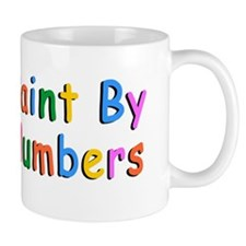 PAINT  BY NUMBERS bumpersticker Mug