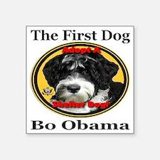 "Bo_adopt_a_shelter_dog_larg Square Sticker 3"" x 3"""