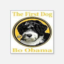 "the_First_Dog_transparent10 Square Sticker 3"" x 3"""