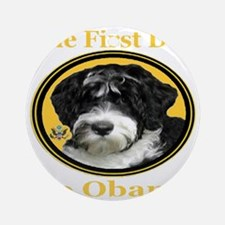the_First_Dog_transparent1024x1024 Round Ornament