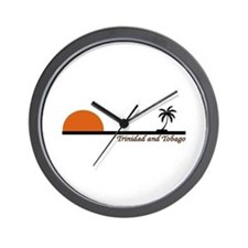 Cute Tobago Wall Clock