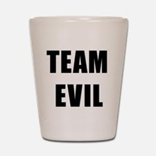 Team Evil Shot Glass