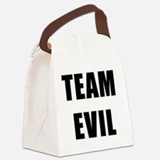 Team Evil Canvas Lunch Bag